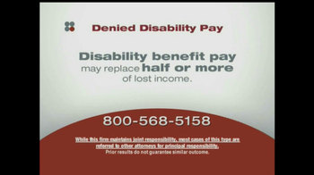 Sokolove Law, LLC TV Spot for Denied Disability Pay - Thumbnail 9