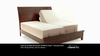 Tempur-Pedic TV Spot for Tempur-Ergo Savings Event - Thumbnail 2