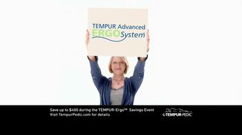 Tempur-Pedic TV Spot for Tempur-Ergo Savings Event - Thumbnail 3