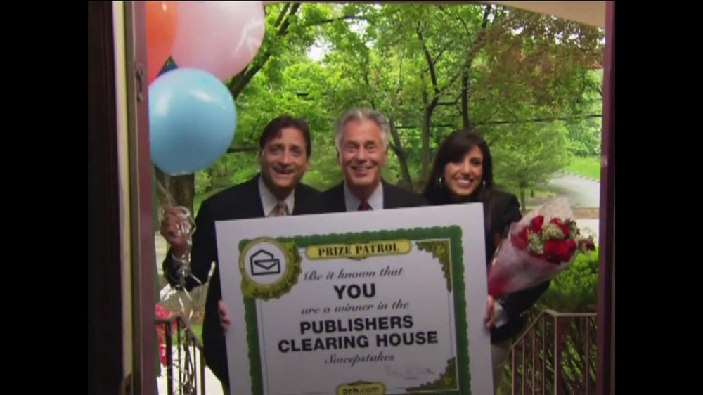 Publishers Clearing House TV Commercial, 'Contest Winner John Wyllie' -  Video