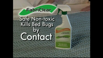 FabriClear TV Spot for Bed Bugs - Thumbnail 3