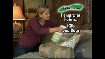 FabriClear TV Spot for Bed Bugs