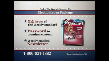 Weekly Standard TV Spot for Election 2012 Package - Thumbnail 9