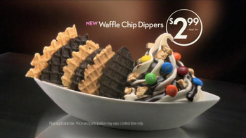Baskin-Robbins Waffle Chip Dippers TV Spot - 55 commercial airings