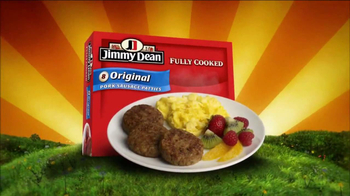Jimmy Dean Pork Sausage Patties TV Spot, 'Weather Forecast' - Thumbnail 10