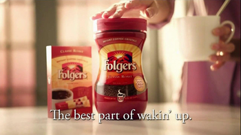 Folgers TV Spot for Intant Coffee - Thumbnail 10
