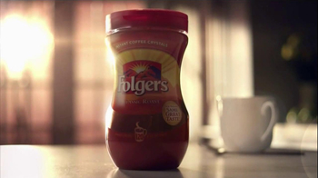 Folgers TV Spot for Intant Coffee - Thumbnail 2