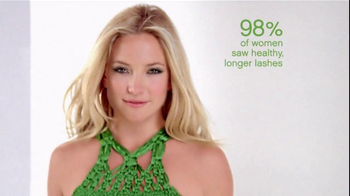 Almay TV Spot for One Coat Get Up and Grow Mascara Featuring Kate Hudson - Thumbnail 4