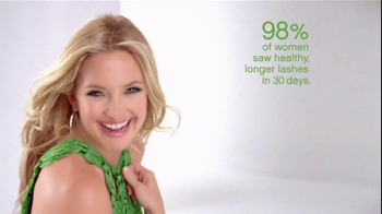 Almay TV Spot for One Coat Get Up and Grow Mascara Featuring Kate Hudson - Thumbnail 5