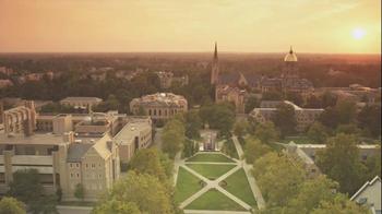 University of Notre Dame TV Spot 'An Irish Blessing' - Thumbnail 1