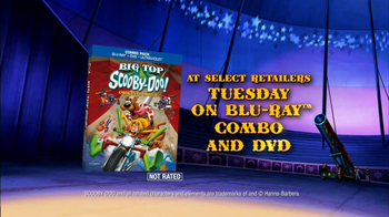 Big Top Scooby-Doo! Combo on Blu-Ray, DVD TV Spot - Thumbnail 10