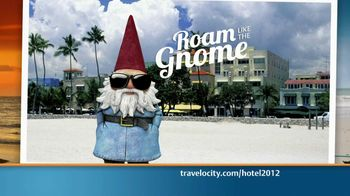 Travelocity TV Spot, 'Roam like the Gnome' - 401 commercial airings
