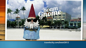 Travelocity TV Spot, \'Roam like the Gnome\'
