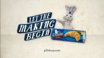 Pillsbury Crescent TV Spot, 'Add Ham and Cheese' - Thumbnail 9