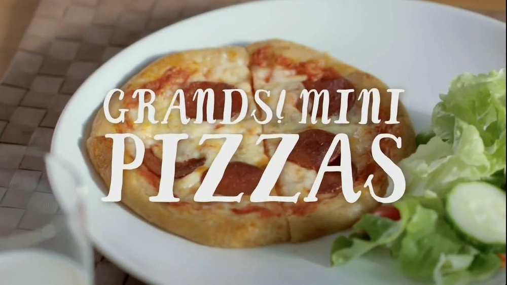 Pillsbury Grands! Flaky Layers TV Commercial, 'Mini Pizzas'
