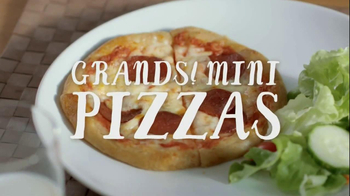 Pillsbury Grands! Flaky Layers TV Spot, 'Mini Pizzas'