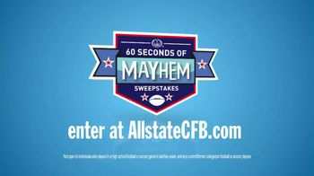 Allstate TV Spot for 60 Seconds of Mayhem - 18 commercial airings
