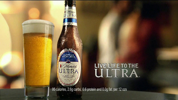 Michelob Ultra TV Spot, 'Refreshing Taste' Featuring Song: Young the Giant - Thumbnail 7