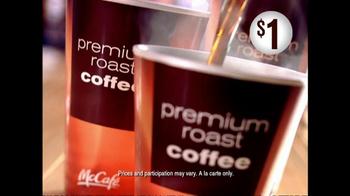 McDonald's TV Spot for Concierge $1 Premium Roast Coffee - Thumbnail 9