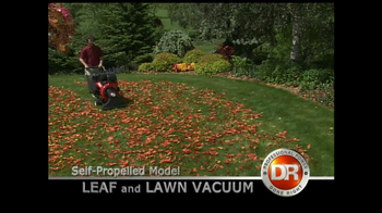DR Power Equipment Leaf and Lawn Vacuum TV Spot