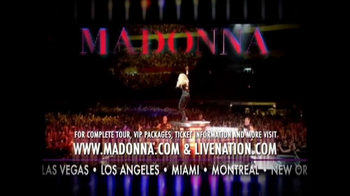 Madonna MDNA Tour TV Spot - Thumbnail 5