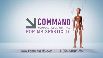 Command Clinical Research Study TV Spot for MS Spasticity - Thumbnail 5