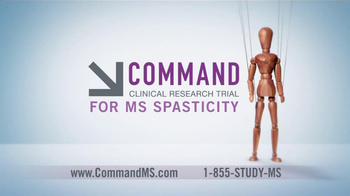 Command Clinical Research Study TV Spot for MS Spasticity - Thumbnail 6