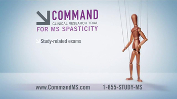 Command Clinical Research Study TV Spot for MS Spasticity - Thumbnail 8