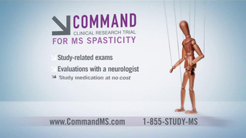 Command Clinical Research Study TV Spot for MS Spasticity