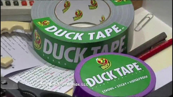 Duck Tape TV Spot for Original Duck Brand Uses - Thumbnail 2