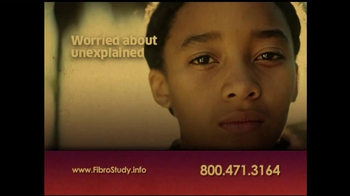 Juvenile Fibromyalgia Fibro Study TV Spot - Thumbnail 1