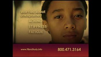 Juvenile Fibromyalgia Fibro Study TV Spot - Thumbnail 2