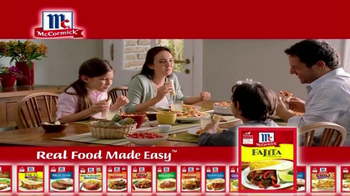 McCormick Fajita Mix TV Spot