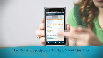 Rhapsody TV Spot, 'Ultimate Party Playlist' - Thumbnail 4