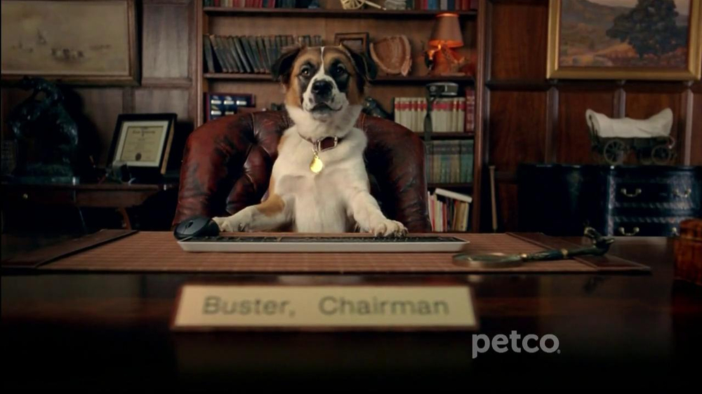 PETCO TV Commercial, 'Chairman Buster' - Video