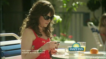 Days Inn TV Spot for Free Internet With Jess Penner