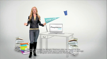 Weight Watchers Online TV Spot for Cecelia in College - Thumbnail 3