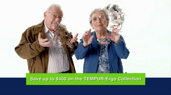 Tempur-Pedic Ergo Collection TV Spot - Thumbnail 5