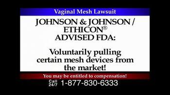 Lee Murphy Law TV Spot for Mesh Lawsuit