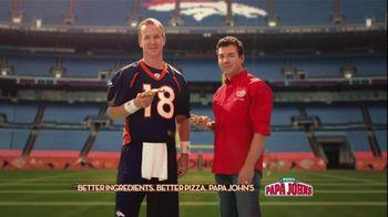 Papa John's TV Spot, '2 Million Free Pizzas' Featuring Peyton Manning