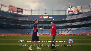 Papa John's TV Spot, '2 Million Free Pizzas' Featuring Peyton Manning - Thumbnail 1