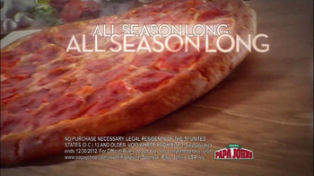 Papa John's TV Spot, '2 Million Free Pizzas' Featuring Peyton Manning - Thumbnail 6