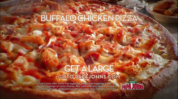 Papa John's TV Spot, '2 Million Free Pizzas' Featuring Peyton Manning - Thumbnail 8
