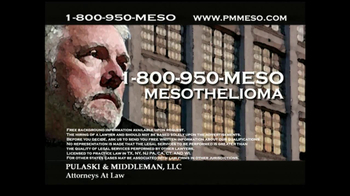 Pulaski & Middleman Attorneys TV Spot, 'Working in the Trades ' - Thumbnail 10