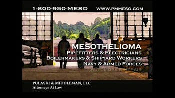 Pulaski & Middleman Attorneys TV Spot, 'Working in the Trades ' - Thumbnail 5