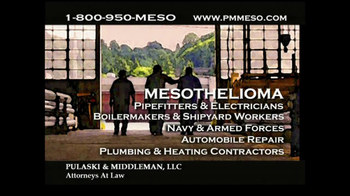 Pulaski & Middleman Attorneys TV Spot, 'Working in the Trades ' - Thumbnail 7