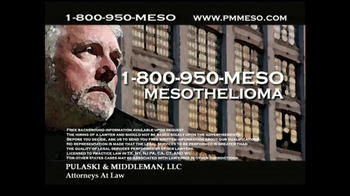 Pulaski & Middleman Attorneys TV Spot, 'Working in the Trades ' - Thumbnail 8