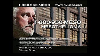 Pulaski & Middleman Attorneys TV Spot, 'Working in the Trades ' - Thumbnail 9