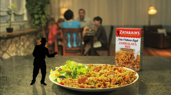 Zatarain's New Orleans Style Rice TV Spot, 'Piano' - Thumbnail 10