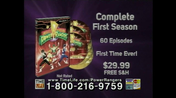 Original Mighty Morphin Power Rangers on DVD TV Spot